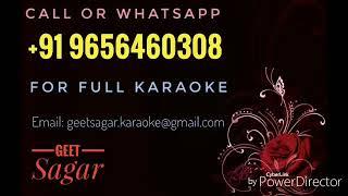 Chalo Ek Bar Phir Se - HQ Karaoke