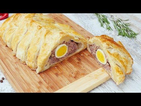 Мясной пирог -