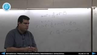 Estadística: Independencia ESTOCÁSTICA Clase 4 (Parte 1)