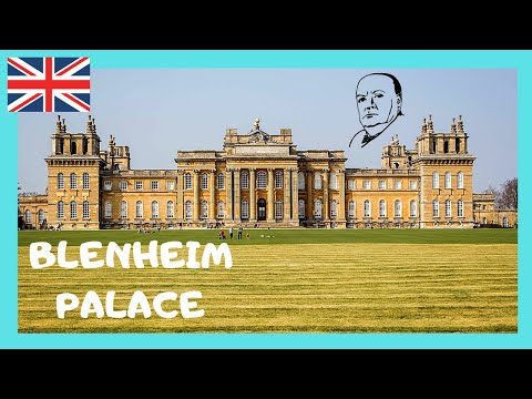 ENGLAND: Magnificent 18th century BLENHEIM PALACE, birthplace of SIR WINSTON CHURCHILL