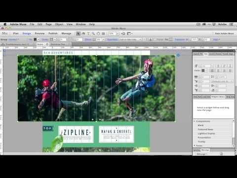 How To Create A Hero Slideshow for your Homepage with Adobe Muse CC