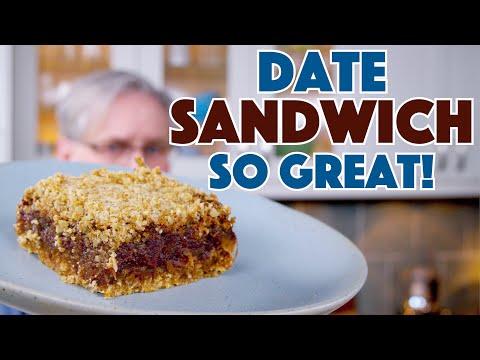 1938 Date Sandwich (Date Squares) Recipe