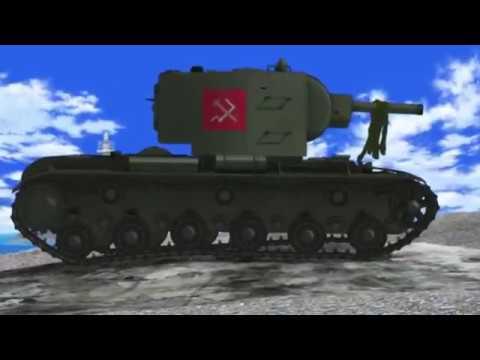 KV-2 Footage (Colorized)