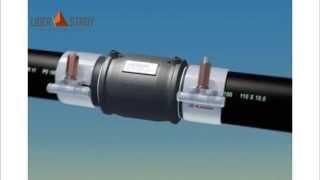 видео Сварка полиэтиленовых труб муфтами: технология