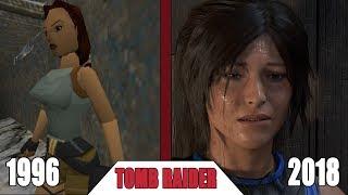 История серии игр Tomb Raider 1996 - 2018 | Эволюция