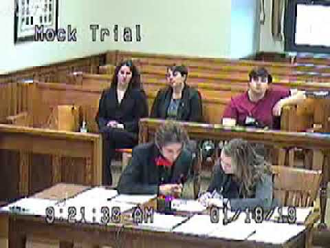 Mock Trial in Hocking County Common Pleas Court | Hocking