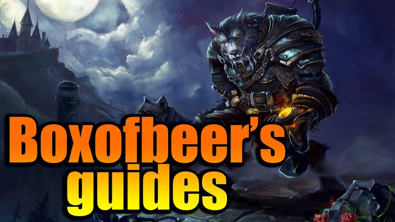 World of Warcraft heben Linien auf