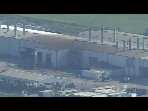 Minor explosions at Crosby, Texas chemical plant
