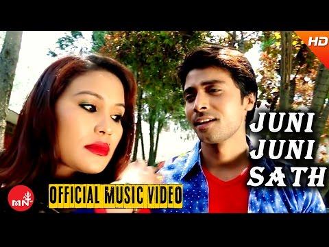 New Nepali Song 2016 || Juni Juni Sath Dinchhu - Manoj Raj (Official Video) Ft.Mukesh/Umesh/Sarina
