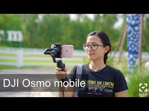 Tip ถ่ายรูป138ใช้มือถือถ่าย VLog ด้วย  DJI Osmo Mobile - วันที่ 10 Dec 2016
