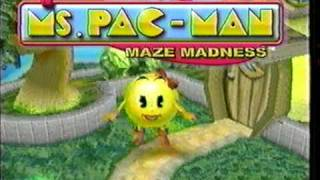 Ms. Pac-Man: Maze Madness (various) - Commercial