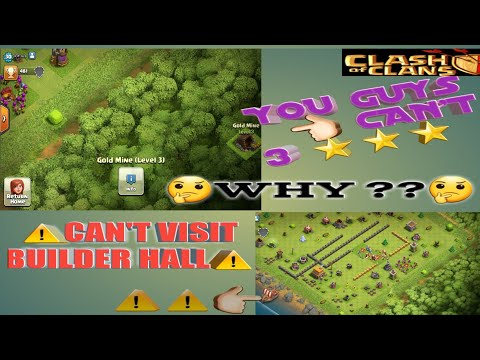 👆🏻YOU GYS CAN'T THREE STAR👆🏻/⚠BUILDER BASE CAN'T VISIT⚠-CLASH OF CLANS