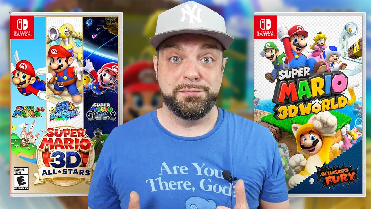 TONS of New Info on Super Mario 3D All-Stars/Super Mario 3D World + MORE!