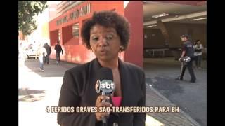 Nove  pessoas morrem em acidente com ônibus na BR-262, em Luz