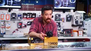 Nikon D3400 Share the Moment Sale Advertisement