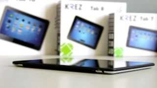 Видеообзор планшетного компьютера KREZ Tab 1(KREZ Tab 10, как и младший брат KREZ Tab 7, поддерживает 2 SIM-карты, т.е. планшет можно использовать и как телефон и как..., 2014-03-20T10:27:15.000Z)