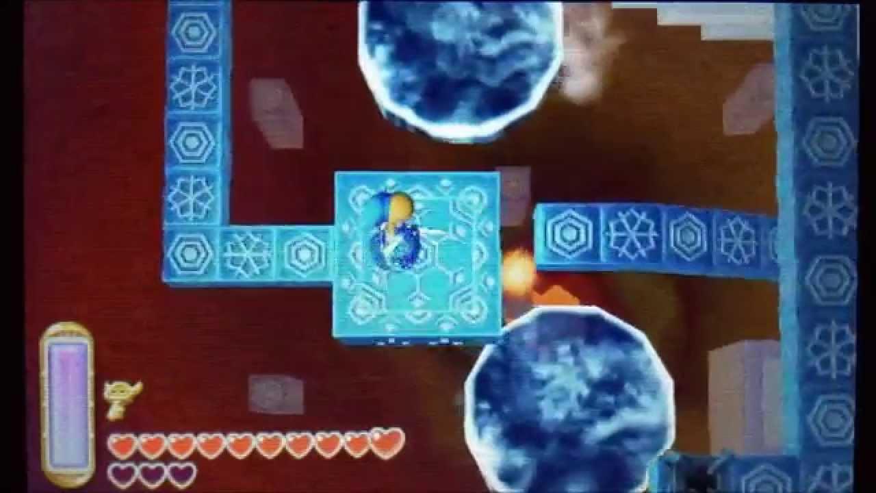 ゼルダの伝説 神々のトライフォース2 氷の遺跡 攻略