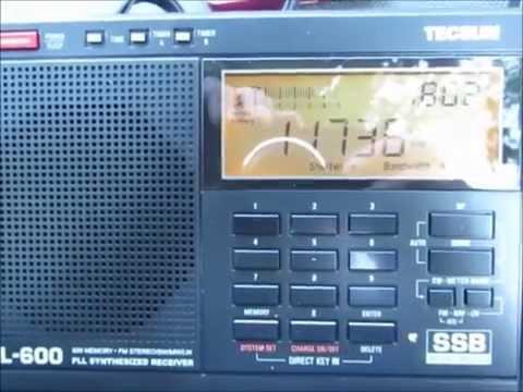 11735 Khz Zanzibar Broadcasting Corporation Dole, Tanzania