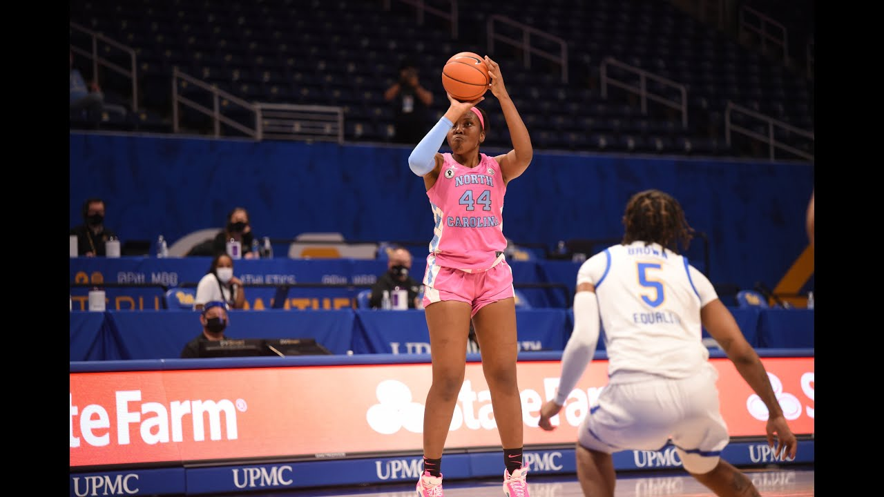 Video: Janelle Bailey, Stephanie Watts Secure UNC's First Road Win at Pitt - Highlights
