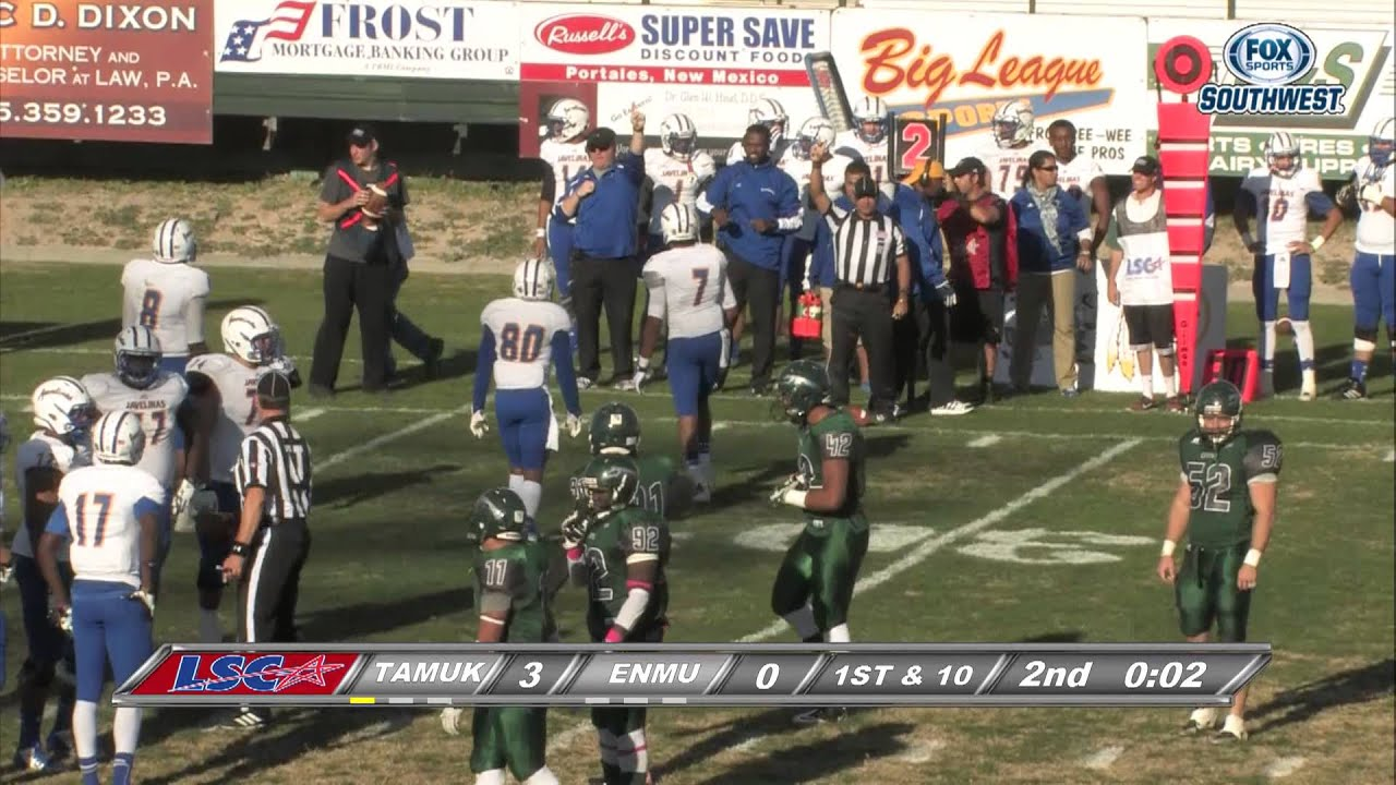 Texas A M Kingsville Vs Eastern New Mexico Youtube