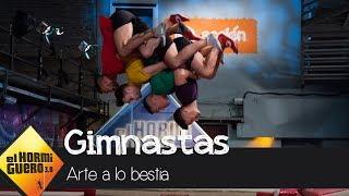 Los gimnastas superan tres retos imposibles - El Hormiguero 3.0