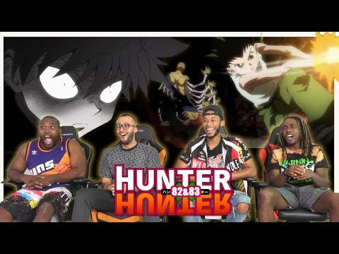 Gon&39;s First Kill Hunter x Hunter 82 & 83 REACTIONREVIEW