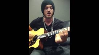 Angel with a Shotgun acoustic performance by Alex Deleon of The Cab
