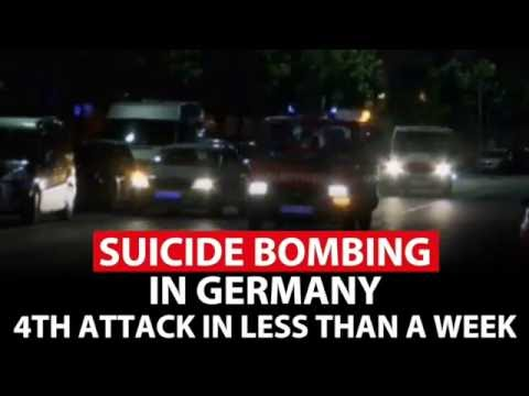 WATCH: ISIS Suicide bombing in Germany. Here's what we know.