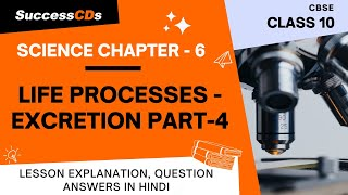 Life Processes Part 4 Excretion Explanation, NCERT Class 10 Science Chapter 6
