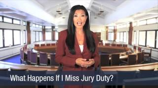 What Happens If I Miss Jury Duty
