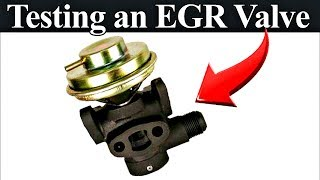 How an EGR System Works Plus Testing and Inspection Procedures - PART I