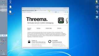 Beste WhatsApp Alternative - Threema 2014 News Doku sk2.eu✔✔✔