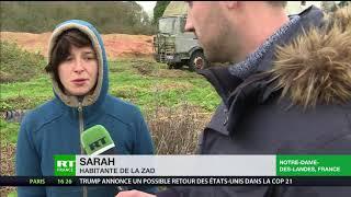 Notre-Dame-des-Landes : évacuation ou non, les militants déterminés à occuper la ZAD (REPORTAGE)