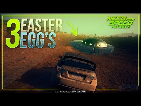 3 EASTER-EGG's INCRÍVEIS NO NOVO NEED FOR SPEED: PAYBACK !!