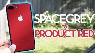 I Turned My iPhone 7 Plus into Product Red for $15!