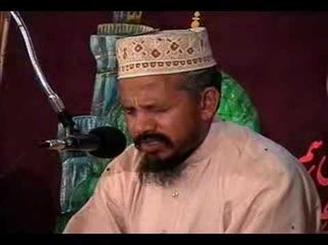 Sura Naas (People) recited by Qari Karamat Ali Naeemi