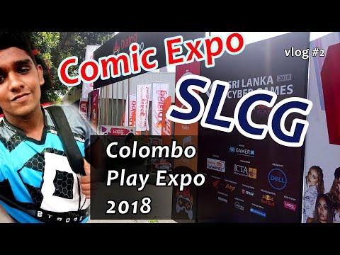 Colombo PlayExpo 2018 - Vlog #2