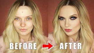 Easy Smokey Glam Makeup Tutorial // MyPaleSkin