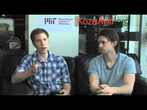 Konbit Developers Interviewed at MIT Media Lab ( Creole Kreyol )