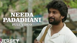 Needa Padadhani song lyrics Jersey Nani Nani Creations