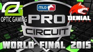 Call of Duty AW MLG Finals - Optic vs Denial
