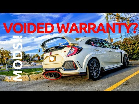 Modding The NEW Honda Civic Type R | Will It VOID The Warranty??