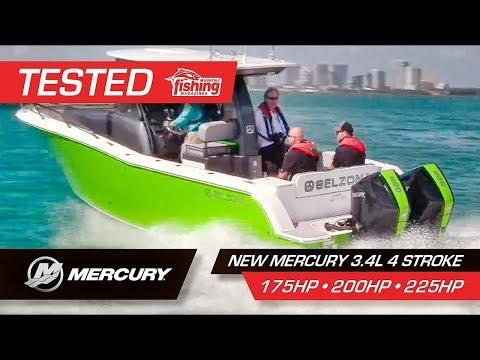 Tested | Mercury 3.4L Four Stroke 200HP 175HP 225HP