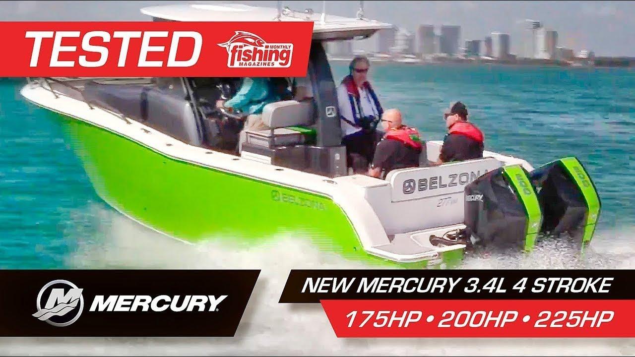 Tested | Mercury 3 4L Four Stroke 200HP 175HP 225HP