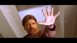 Dr.Vishnuvardhan Sparkling Entry in Hospital Scene   Kadamba Kannada Movie   Popular Dialogue Scene