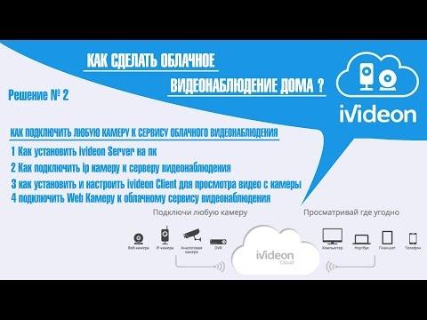 Как сделать Видеонаблюдение дома ?