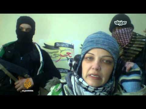 Leila Rida u Slobodnoj sirijskoj vojsci - Al Jazeera Balkans