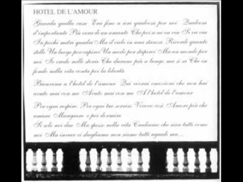 67ec04b8305 Luca Madonia - Hotel de l amour (Moto Perpetuo - 1994) - YouTube