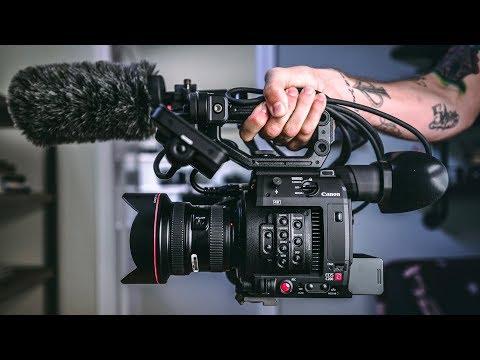 Super High Quality CINEMA CAMERAS! Canon's NEW C200!