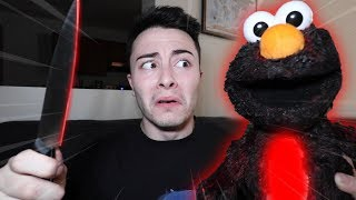 CUTTING OPEN EVIL ELMO DOLL AT 3 AM!! (WHAT